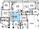 Spanish Home Plans Center Courtyard Pool Plan W16365md Center Courtyard Views E Architectural Design