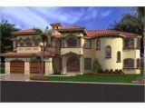 Spanish Home Plans Spanish Mediterranean Revival Luxury Spanish Mediterranean