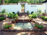 Spanish Home Plans with Courtyards Small Front Courtyards Small Spanish Style Courtyard
