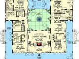 Spanish House Plans with Inner Courtyard Spanish Style House Plans with Interior Courtyard Www
