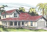 Spanish Style Homes Plans Spanish Style House Plans Kendall 11 092 associated