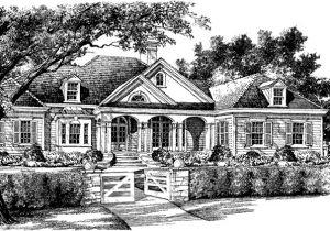 Spitzmiller and norris House Plans Oak Hill Lane Spitzmiller and norris Inc southern