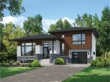 Split Entry Home Plans Split Level Contemporary House Plan 80789pm 1st Floor