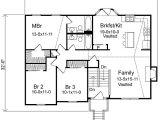 Split Level Home Floor Plans Cozy Split Level Home Plan 22003sl Traditional Narrow