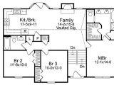 Split Level Home Floor Plans Cozy Split Level House Plan 2298sl Narrow Lot 1st