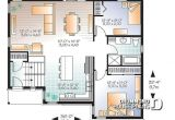 Split Level Home Open Floor Plan House Plan W3323 V3 Detail From Drummondhouseplans Com