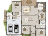 Split Level Home Plans Australia Split Level 4 Bedroom Australian House Design New Homes