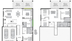 Split Level Home Plans the Horizon Split Level Floor Plan by Mcdonald Jones