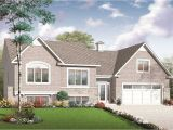 Split Level Homes Plans Split Level Multi Level House Plan 2136 Sq Ft Home Plan