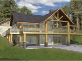 Split Level House Plans with Walkout Basement Vacation Home Plans Homeplans Com