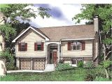 Split Level Ranch Home Plans Split Level House Plan with 1432 Square Feet and 3