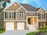 Split Plan Home 3 Bed Split Level House Plan 75430gb Architectural