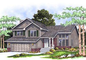 Split Plan Home Split Level Home Plan 8963ah Architectural Designs