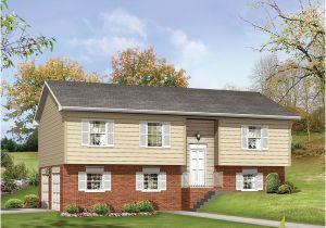 Split Plan Home Split Level House Plans 1960s