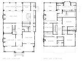 Square Home Plans American Foursquare House Floor Plans American Colonial