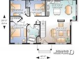 Starter Home Plans 3 Bedrooms House Plan W3107 Detail From Drummondhouseplans Com