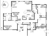 Starter Home Plans 3 Bedrooms Split Bedroom Starter Home 77331ld Architectural
