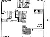 Starter Home Plans 3 Bedrooms Three Bedroom Starter Home with Loft 2081ga