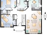 Starter Home Plans 3 Bedrooms Tidy 2 Bedroom Starter House Plan 21254dr 1st Floor
