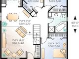 Starter Home Plans Simple Starter House Plan with Options 21251dr