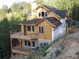 Steep Lot House Plans Steep Mountain Modern Home