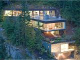 Steep Lot House Plans Very Steep Slope House Plans Slope House Design Canada