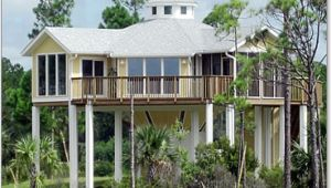 Stilt Home Plans Stilt House Plan