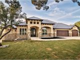 Stone and Stucco House Plans Lazy River Mediterranean Exterior Austin by C L