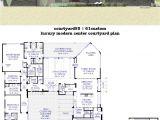 Stone Homes Floor Plans Stone House Plans with atrium Home Deco Plans