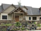 Stone Ranch Home Plans Craftsman Style Homes with Stone Ranch Style Homes