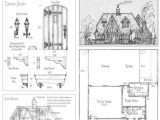 Storybook Cottage Home Plans Storybook House Floor Plans