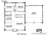 Strongwood Log Homes Floor Plans Fisher Floor Plan First Floor Strongwood Log Timber