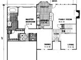Stucco Home Floor Plans Four Bedroom Stucco Home Plan 20000ga Architectural