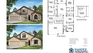 Suarez Homes Floor Plans Waverly Model Suarez Housing