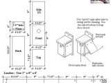 Swallow Bird House Plans Tree Swallow Bird House Plan Birdhouses Pinterest