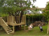 Swing Set Tree House Plans Diy Tree House with Slide and Swings Do It Yourself Fun