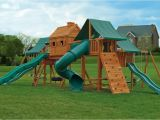 Swing Set Tree House Plans Tree House Swing Set Plans Architectural Designs