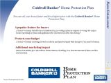 System Protect Home Service Plan Coldwell Banker Seller Services Proposal Ppt Download