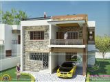 Tamilnadu Home Plans with Photos Double Storied Tamilnadu House Design Kerala Home Design