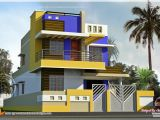 Tamilnadu Home Plans with Photos Modern Tamilnadu House Kerala Home Design and Floor Plans