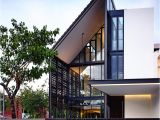 Terrace Home Plans A Corner Terrace House for A Family In Singapore