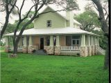 Texas Hill Country House Plans with Wrap Around Porch Hill Country Retreat Farmhouse Exterior Houston by