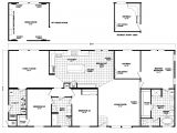 The Home Plan the Pecan Valley Iii Hi3268a Manufactured Home Floor Plan