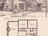 The Home Plans Book 1924 Modern Colonial Revival Cottage 1920s House Plans