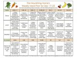 The Nourishing Home Meal Plan 81 Best Images About Weekly Menus On Pinterest Weekly