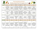 The Nourishing Home Meal Plan Meal Plans Archives Page 13 Of 16 the Nourishing Home