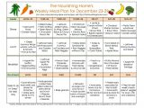 The Nourishing Home Meal Plan Meal Plans Archives the Nourishing Home