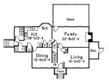 The Waltons House Floor Plan Floor Plan for the Waltons House