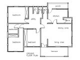 Three Bedrooms House Plans with Photos House Plans Ghana 3 Bedroom House Plan Ghana House