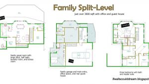 Three Level Split House Plans 3 Level Split House Plans 2018 House Plans